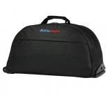 сумка дорожная Santa Fe 3231  (56х32х24 см) на колесах,  черная