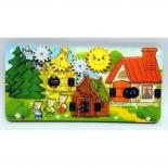 игрушка для малыша Бизиборд Нескучные игры Три поросенка (8012)
