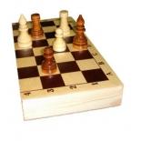 шахматы гроссмейстерские, лакированные (Россия)