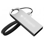 usb-флешка 8 Gb, Transcend JetFlash 520, Silver Plating
