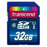 Карта памяти Transcend 32Gb SDHC class10 UHS-1 Premium, купить за 1 365руб.