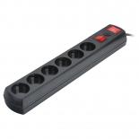 сетевой фильтр Most LR 1.7м, черный