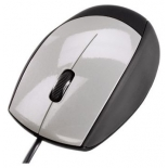 мышка Hama M368 Optical Mouse USB, черно-серебристая