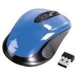мышка Hama AM-7300 sky-blue USB, голубая