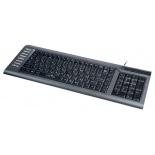 клавиатура Oklick 350 M, серая