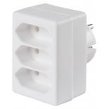 разветвитель электропитаня Buro BU - PS3F - W, белый