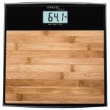Напольные весы Scarlett SC-BS33E064, бамбук/черные