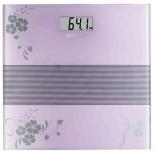 весы напольные Scarlett SC-BS33E060, фиолетовые/рисунок