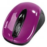 мышка Hama AM-7300 blackberry, фиолетовая