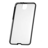 чехол для смартфона HTC для  One E9+ (HC C1131)прозрачный с серыми вставками