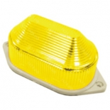 новогоднее украшение Декор Торг-Хаус LED-строб накладной, желтый