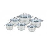 набор посуды для готовки Bekker BK-1588 Premium 12 пр.