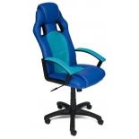 игровое компьютерное кресло TetChair Драйвер, 2613/23 голубое