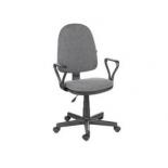кресло офисное OLSS ПРЕСТИЖ серый В-3, до 80 кг
