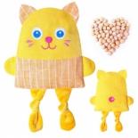 игрушка мягкая грелка Мякиши Доктор Мякиш Кот кроха (180)