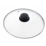 крышка для посуды TimA 4732 с металлическим ободком (32см) стекло