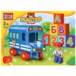 Конструктор Город мастеров (GK-1013-R) Автобус, с фигуркой, купить за 805руб.