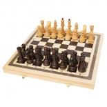 шахматы Орловская ладья точеные Офисные с доской (Н-1)