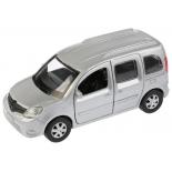 игрушки для мальчиков Автомобиль ТехноПарк Renault Kangoo (KANGOO-SL) 12 см, серебристый