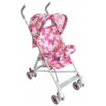 коляска Alis Game (трость), розовая