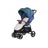 коляска Liko Baby AU-208  Голубая