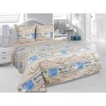 комплект постельного белья Тете-а-тете  Classic, Сакура, Э-1357-01 1,5-спальный, бязь,