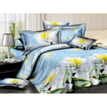 комплект постельного белья ЭГО Э-2033-01 Лето 1,5-спал., полисатин, нав.2*70х70