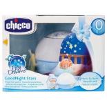 ночник для детской Chicco Первые грёзы,  голубой