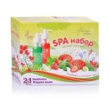 мыло детское Аромафабрика бомбочки для ванн, и жидкое мыло. Клубника и Зеленый чай С1023
