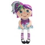игрушка мягкая 1Toy Девчушка-вывернушка Варюшка 2-в-1