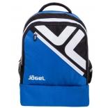 рюкзак спортивный Jogel Double bottom JBP-1903-761, синий/черный/белый, L