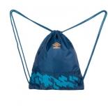 рюкзак спортивный Umbro Veloce Gymsack 30664U, синий/оранжевый/голубой