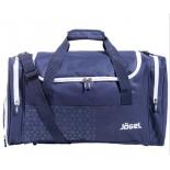 сумка дорожная Jogel JHD-1801-091,  темно-синий/белый
