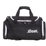 сумка дорожная Jogel JHD-1802-061, (многофункциональная), черный/белый
