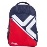 рюкзак спортивный Jogel JBP-1901-291, красный/темно-синий/белый