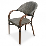 кресло садовое Afina C029-TX серый/беж