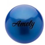 мяч гимнастический Amely AGB-101, 19 см, синий