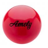 мяч гимнастический Amely AGB-101 19 см, красный