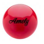 мяч гимнастический Amely AGB-101, 15 см, красный