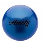 мяч гимнастический Amely AGB-101, 15 см, синий