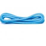 скакалка гимнастическая Amely RGJ-304,  голубой/серебряный, с люрексом