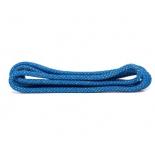 скакалка гимнастическая Amely RGJ-304,  синий/золотой, с люрексом