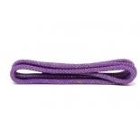 скакалка гимнастическая Amely RGJ-304, фиолетовый/золотой, с люрексом