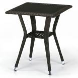 стол садовый Afina T25-W53-50x50 коричневый