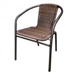 стул садовый Afina Асоль TLH-037BR2 коричневый