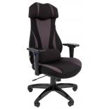 компьютерное кресло Chairman game 14,  чёрное/серое
