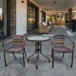 комплект садовой мебели Afina  Асоль-1B TLH-037BR2/060RR-D-60 Brown