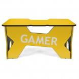 стол компьютерный Generic Comfort Gamer 2/N/Y, черно-желтый