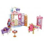аксессуар для кукол Mattel Barbie FRB15 Переносной радужный дворец