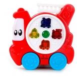 Игрушки для мальчиков развивающая Умка (B1294973-R) Пожарная машинка, купить за 725руб.
